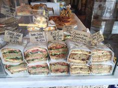 Cafe Marmalade, Brighton - Restaurant Reviews, Phone Number & Photos - TripAdvisor Sandwich Bar, Roast Beef Sandwich, Sandwich Shops, Bakery Shop Design, Coffee Shop Design, Cafe Menu, Cafe Food, Bakery Display, Catering Display