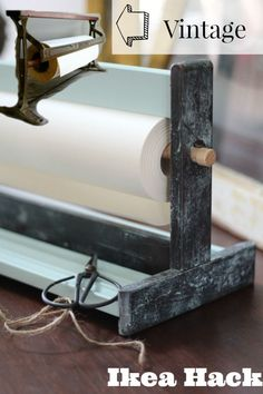 See how I did this DIY Ikea Hack Vintage Paper Cutter - Refresh Restyle