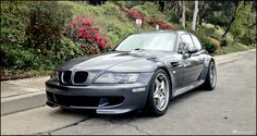 2001 z3 m coupe S54 e36/8 samtrak silver red tck low custom roadstars