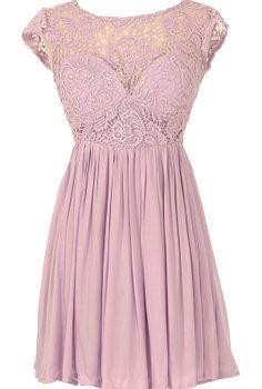 Lily Boutique.com lilac party dress