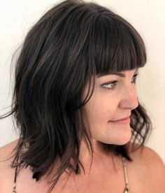 18 Hottest Layered Haircuts with Bangs for 2020 Layered Thick Hair, Curly Mohawk Hairstyles, Layered Haircuts With Bangs, Hot Haircuts, Haircuts For Curly Hair, Long Hair With Bangs, Long Wavy Hair, Short Hair, Dry Curly Hair