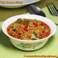 Soya Chunks kheema curry