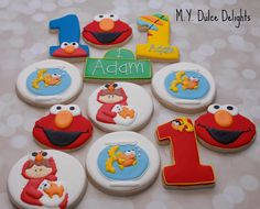 elmo cookies | Cookie Connection