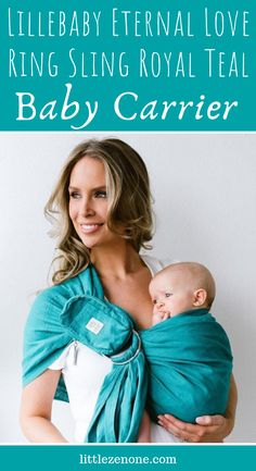Lillebaby Eternal Love Ring Sling in Royal Teal is a natural, premium quality linen ring sling that is lightweight and breathable, easy to use and designed with elegantly adorned rings. Birth Art, Baby Carrying, Baby Due, Best Baby Carrier, Ring Sling, Baby Sling, Eternal Love, Rings Cool, Baby Wraps