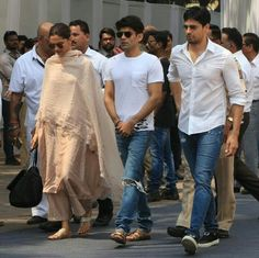 Views from Sidharth and Deepika's Sridevi's funeral