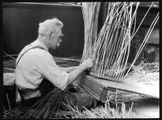 basket weaving old picture - Google zoeken