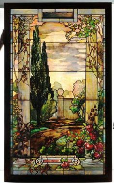 Tiffany window.