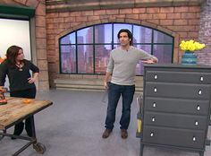 Carter Oosterhouse's Space-Saving Tips...has some awesome organization tips for small spaces!