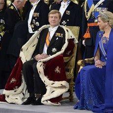 Hoge gasten wonen Nederlandse troonswisseling bij