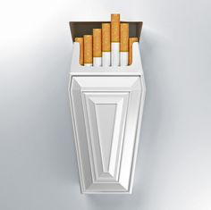 Anti Smoking Cigarette Pack Concept