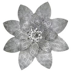 Feng Shui Metal Element from the At Home Store!  SMPB 27  METAL FLOWER