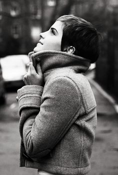 Emma Watson is so pretty!  harrycrowder:  Emma Watson, photographed by Harry Crowder.