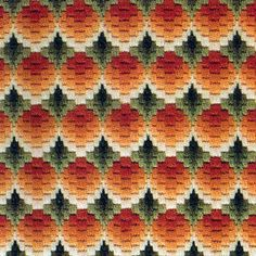 Lovely things: Bargello embroidery: A collection of schemes Bargello Needlepoint, Bargello Patterns, Needlepoint Stitches, Embroidery Stitches, Hand Embroidery, Embroidery Designs, Needlework, Crafty Craft, Rug Hooking