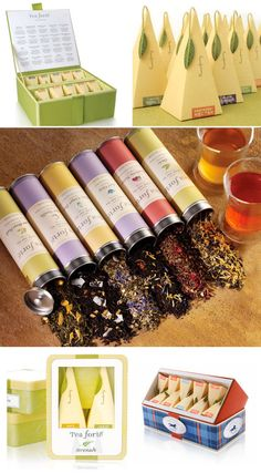 Tea Packaging <3 so beautiful
