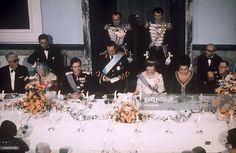 Queen Ingrid wore this tiara for the dinner during the Yugoslavian State Visit in October 1974.