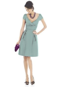 Sweet a-line cocktail or bridesmaid dress