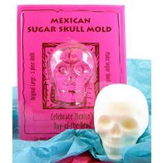 Large Sugar Skull Mold!!!
