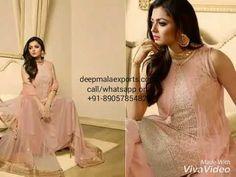 LT Fabrics Nitya 117 1701-1710 Drashti Dhami Wedding Bridal Anarkali Dre...