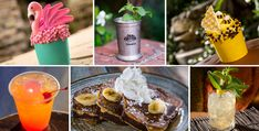 Spring has sprung, and with it a bevy of new beverage and food arrives at Disneyland Resort and Walt Disney World Resort. Pickled Corn, Flamingo Cupcakes, Butter Sugar Cookies, Strawberry Crisp, Marionberry, Sour Fruit, Flame Tree, Walnut Pesto, Blue Bayou