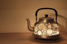 artful tea pot.