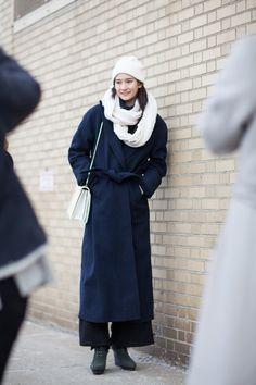 Street Style: Mona Matsuoka, NY | Fashionsnap.com