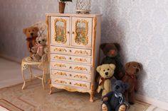OOAK-Dollhouse Miniature Dresser. Scale 1:12 by Lolaminiatures