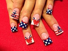 INDEPENDENCE DAY NAIL ART IDEAS - Reny styles
