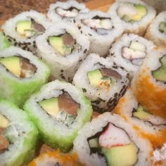 Sushi Rolls Close Up. Food and Art @Asian Lounge Zwolle Zuid