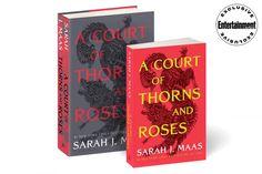 High Fantasy Books, Creative Book Cover Designs, Aelin Galathynius, Book Sleeve, Sarah J Maas, Book Lists, Entertaining, Roses, Shelf