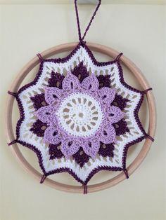Best Crochet Mandala Rug Crafts Ideas Best Crochet Mandala Rug Crafts Ideas Learn the basic Crochet Rug Patterns, Crochet Mandala Pattern, Crochet Doilies, Crochet Crafts, Crochet Yarn, Crochet Projects, Dream Catcher Patterns, Mandala Rug, Crochet Dreamcatcher