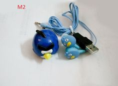 #Gift MINI Birds MP3 music Player 6 color with MP3 birds #earphone and #usb slot