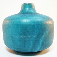 Studio-Keramik-Vase-Anton-Lang-Keramik-Oberammergau-50er-Jahre