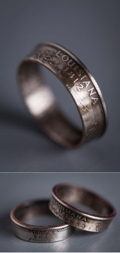 This would be cute for if we move out of state, having CT rings for where we met