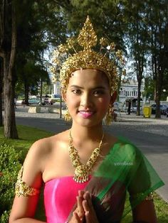 Thailand. one day when i save enough, I shall visit Thailand. There accessories and gold pieces are amazing