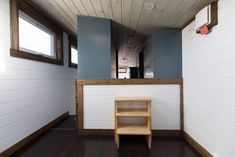 The Lookout v2: the second edition of The Lookout which won 'Best in Show' at the 2016 Tiny House Jamboree. Designed and built by Tiny House Chatanoooga.