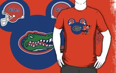 935a580e6 Florida Gators Mickey Mouse fan T-shirt by My Heart Has Ears Mickey Mouse  Shirts