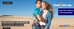This Monday, 6th June, get ready for India's biggest Casual Wear sale on Myntra. Get range of latest Casual Wear at exclusive rates. Also, get chance to win various Casual Wear from Myntra. http://www.dealecharge.com/