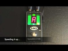 T-Rex tuneMASTER - Bass, Acoustic and Electric Guitar. - YouTube
