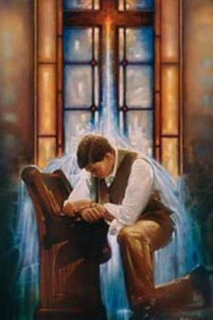 Many times I bowed beneath the heavy load. On bended knee to God a prayer I prayed. He'd remind me just once more, that the answer was already on the way.