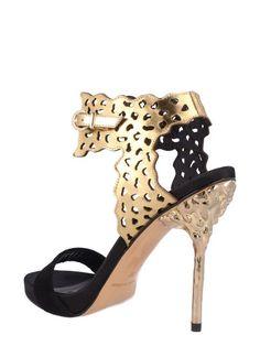 El Dantes Dámske topánky na podpätku D15169-26_NEGROO - ANTE NEGRO Oxide
