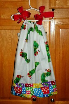The Very Hungry Caterpiller Dress by crankypantscreations on Etsy, $18.99