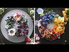 Buttercream Floral Cakes That Look Too Beautiful To Eat   Muhammad Waqas - YouTube