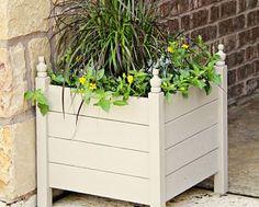 Outdoor Planter Box DIY