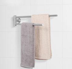 Kvalitný otočný vešiak na uteráky z nerezovej ocele | Interiérový dizajn a architektúra E-SHOP, Dekorácie, vypínače, tapety, batérie, kovanie, svietidlá a dekorácie Towel, Retro, Vintage, Vintage Comics, Retro Illustration