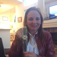 Roxana used 13 voucher bids to win this Christmas tree watch for only $0.38 and saved 99%! #QuiBidsWin