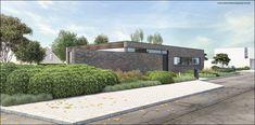 Tuinontwerp moderne woning : Tuinarchitect Timothy cools  Firma : Tuinarchitectengroep eco bvba  Aalst