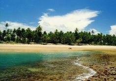 Praia de Algodões, Península de Maraú - BA
