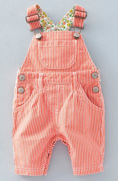 Mini Boden Stripe Overalls (Baby Girls & Toddler Girls) Source by amycate_xo girl clothes Baby Outfits, Toddler Girl Outfits, Kids Outfits, Toddler Girls, Toddler Pants, Baby Girls, My Baby Girl, Baby Love, Baby Baby