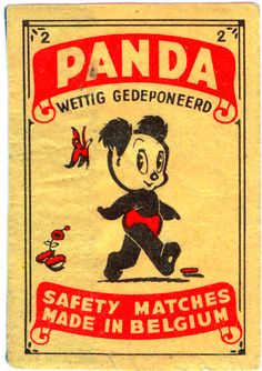 from Belgium this panda is so cute. It would make a great tattoo!