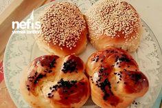 Yumuşaklığı Garanti Poğaça Açma Hamburger, Bread, Recipes, Food, Brot, Essen, Baking, Burgers, Eten